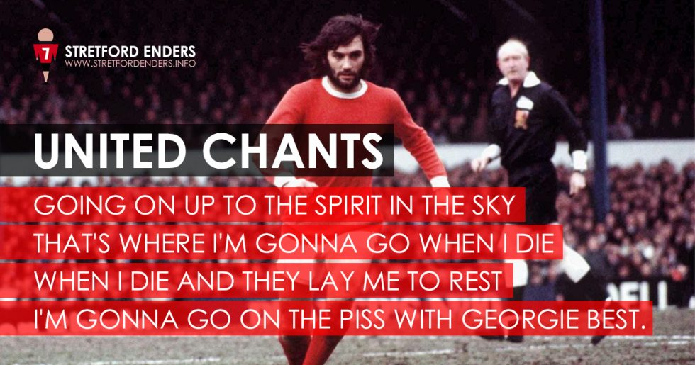 To one of the best manchester united players of all time george best
